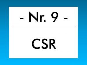 Buzzword des Monats März 2018: CSR