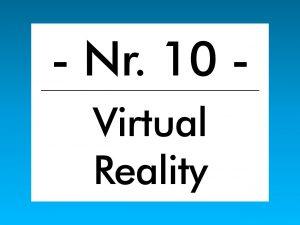 Buzzword des Monats April 2018: Virtual Reality